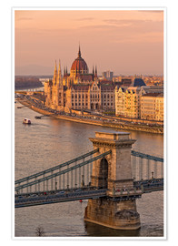 Poster  Budapest late afternoon - Fine Art Images
