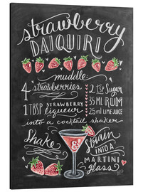 Stampa su alluminio  Ricetta Strawberry Daiquiri (in inglese) - Lily & Val