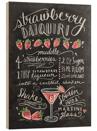 Legno  Strawberry Daiquiri Recipe - Lily & Val