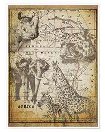Poster Premium  The Spirit of Africa - Andrea Haase