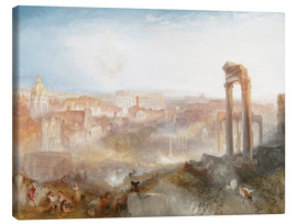 Tela  Modern Rome - Joseph Mallord William Turner