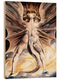 Legno  Clothed The Great Red Dragon and the Woman with the Sun - William Blake