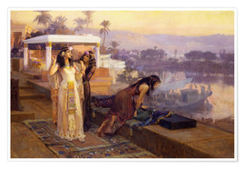 Poster Premium Cleopatra on the terraces of philae