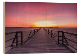 Legno  Long jetty at the beach of St. Peter Ording - Dennis Stracke