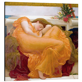 Stampa su alluminio  Flaming June - Frederic Leighton