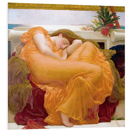 Stampa su schiuma dura  Flaming June - Frederic Leighton