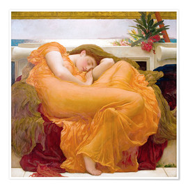 Poster Premium  Flaming June - Frederic Leighton