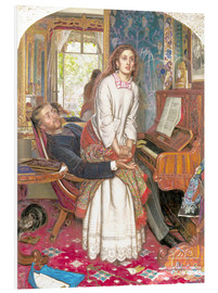 Stampa su schiuma dura  The Awakening Conscience - William Holman Hunt