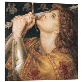 Forex  Knight with sword - Dante Charles Gabriel Rossetti