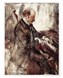 Poster Premium  The Pianist - Giovanni Boldini