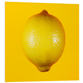 Forex  Lemon against yellow background - Mark Sykes