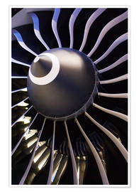 Poster Premium  Aircraft turbine - Mark Williamson