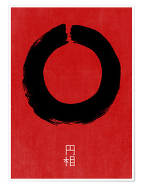 Poster Premium  Enso giapponese - THE USUAL DESIGNERS