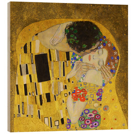 Legno  The Kiss (detail cross) - Gustav Klimt