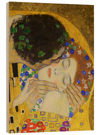 Legno  The Kiss (detail) - Gustav Klimt