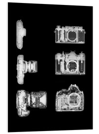 Schiuma dura  X-ray of a digital camera - PhotoStock-Israel