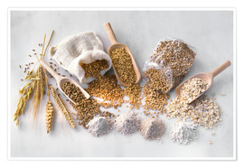 Cereal crop products