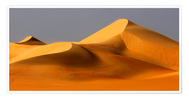 Poster Premium  Great Sand Sea, Sahara - Moser