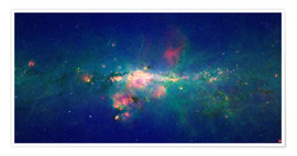Poster Premium Milky Way (infrared image)