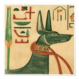 Poster Premium The Tomb of Siptah, Anubis
