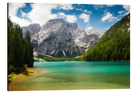 Stampa su alluminio  Lake Braies in South Tyrol , Lago di Braies - Reiner Würz