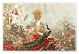 Poster Premium  The Toilet of Venus - Konstantin Jegorowitsch Makowski