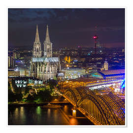 Poster Premium Cologne Cathedral