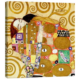 Tela  The Hug - Gustav Klimt