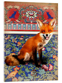 Vetro acrilico  The Fox - Mandy Reinmuth