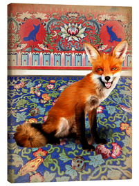Stampa su tela  The Fox - Mandy Reinmuth