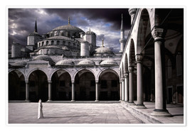 Poster Premium  Lady and the mosque - Daniel Murphy