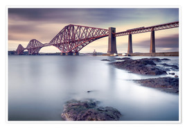Poster Premium  Forth Rail Bridge - Martin Vlasko