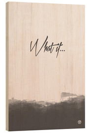 Legno  What if - m.belle