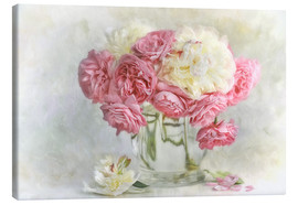 Tela  roses and peonies - Lizzy Pe