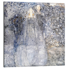 Alluminio Dibond  Silver Apples - Margaret MacDonald Mackintosh