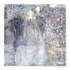 Poster  Silver Apples - Margaret MacDonald Mackintosh