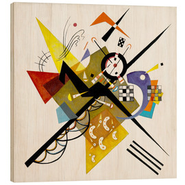 Legno  On White II - Wassily Kandinsky