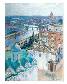 Poster  View of Moscow - Nikolaj Grizenko