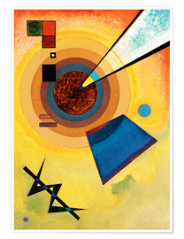 Poster Premium  Green and red - Wassily Kandinsky
