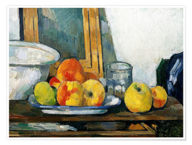 Poster Premium Still life with open drawer
