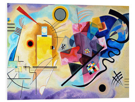 Forex  Yellow, red and blue - Wassily Kandinsky
