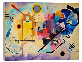 Legno  Yellow, red and blue - Wassily Kandinsky