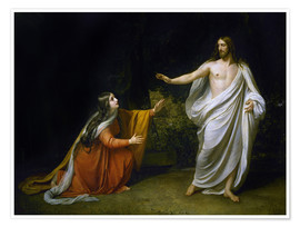 Poster Premium Christ's Appearance to Mary Magdalene after the Resurrection