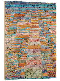 Legno  Main path and Byways - Paul Klee