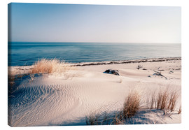 Stampa su tela  Sand Dunes and the Ocean - Sascha Kilmer