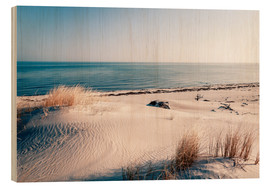 Legno  Sand Dunes and the Ocean - Sascha Kilmer