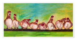 Annett Tropschug - chicken run