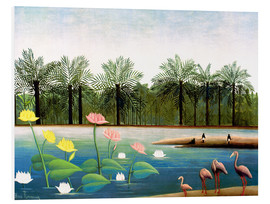 Forex  The Flamingos - Henri Rousseau
