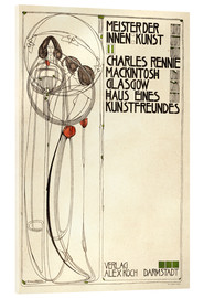Stampa su vetro acrilico  House of an art lover: Cover - Charles Rennie Mackintosh