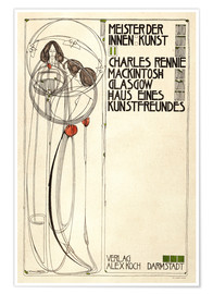Poster  House of an art lover: Cover - Charles Rennie Mackintosh